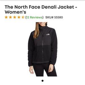 North Face Denali Jacket in Black size Medium